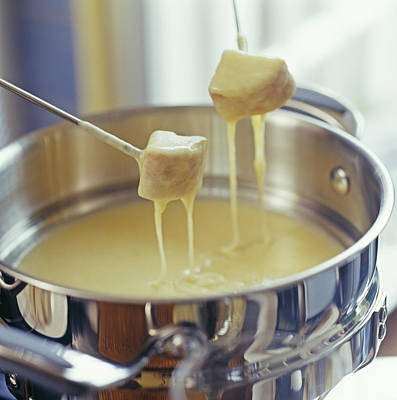 Cheese Fondue Print by David Munns