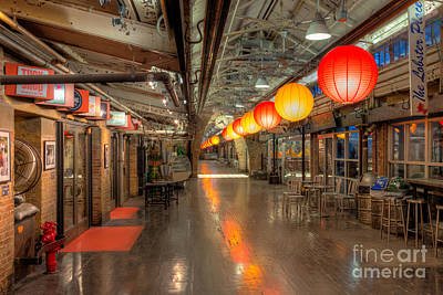 Paper Lantern Photograph - Chelsea Market II by Clarence Holmes