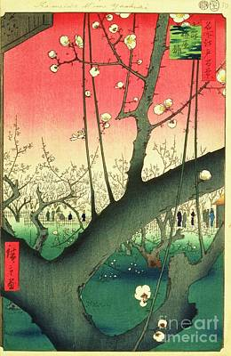 Cherry Blossoms Print by Roberto Prusso
