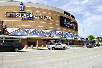 Chesapeake Arena Print by Malania Hammer