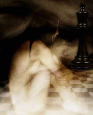 Nude Woman Digital Art - Chess Mate by Gun Legler