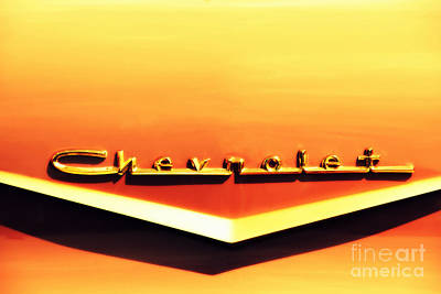 Chevrolet Print by Susanne Van Hulst