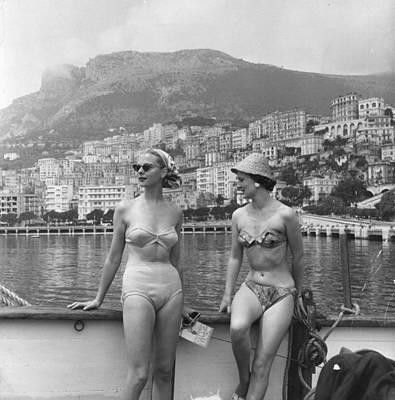 Chic Bikini Print by Bert Hardy