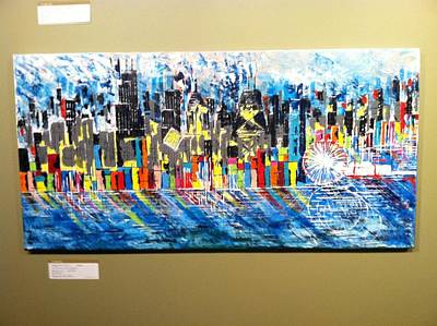 Chicago Cityscapes Original by George Riney