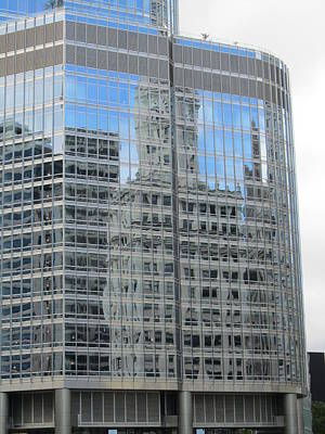 Photograph - Chicago Reflection-3 by Todd Sherlock