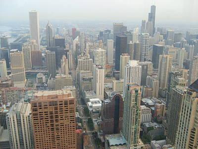 Chicago Skyline Original by Joe Cowan