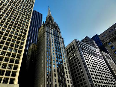 Buildings Photograph - Chicago Tm 025 by Lance Vaughn