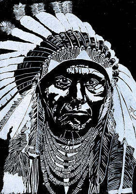 Chief Joseph Print by Jim Ross