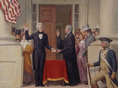 Inauguration Photograph - Chief Justice John Marshall 1755-1835 by Everett