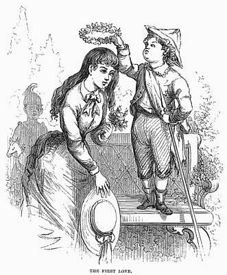 Children: Love Print by Granger