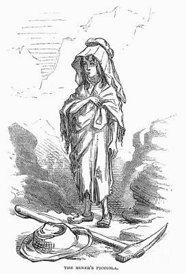 Children: Miners Daughter Print by Granger