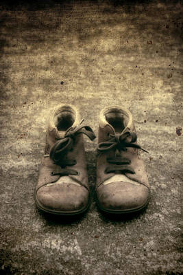 Children's Shoes Print by Joana Kruse