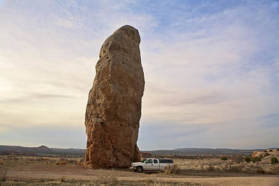 Cannonville Photograph - Chimney Rock In Kodachrome Basin by Gregory Scott