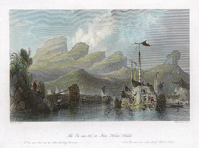 China: Mountains, 1843 Print by Granger
