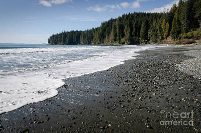 Juan De Fuca Provincial Park Photograph - China Wave China Beach Juan De Fuca Provincial Park Vancouver Island Bc by Andy Smy