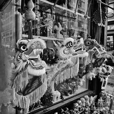 2012 Photograph - Chinatown Dragons Nyc by John Farnan