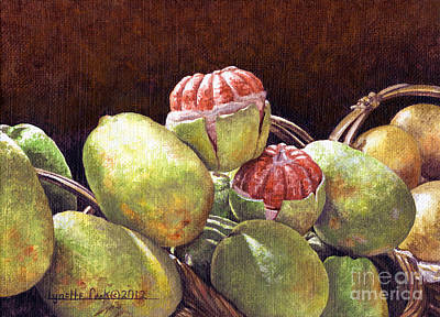 Chinese Grapefruit Original by Lynette Cook