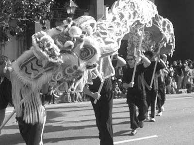 Los Angeles Photograph - Chinese New Year by Caroline Lomeli