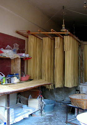 China Photograph - Chinese Noodles by Carla Parris