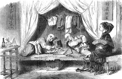 Chinese Opium Den Print by Science Source