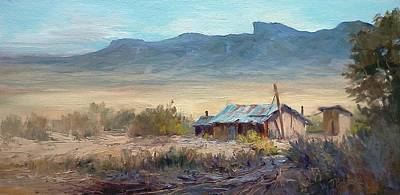 Painting - Chisos Mountains-desert View by Tina Bohlman