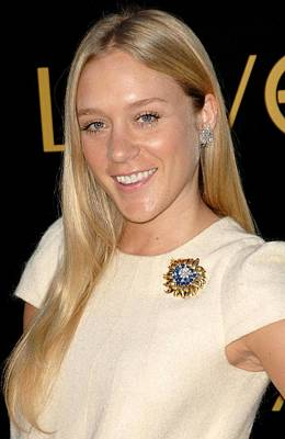 Chloe Photograph - Chloe Sevigny At Arrivals For Cartier by Everett