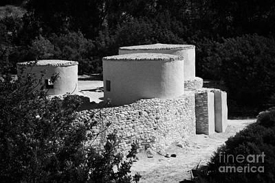 Choirokoitia Ancient Neolithic Village Settlement Republic Of Cyprus Print by Joe Fox