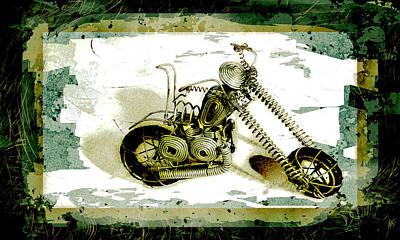 Chopper 1 Print by Mauro Celotti