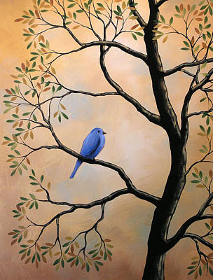 Birds Painting - Chorus Of One by Amy Giacomelli