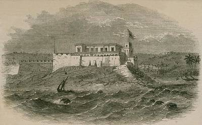 Christianborg Castle, On The Gold Coast Print by Everett