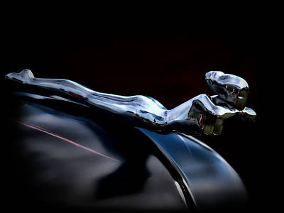 Automotive Photograph - Chrome Angel by Douglas Pittman