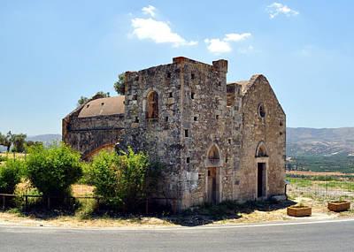 Church Of Ayios Georgios. Print by Fernando Barozza