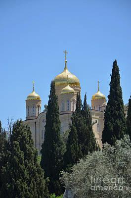 Church Of Gornensky Convent 2 Print by Moshe Moshkovitz