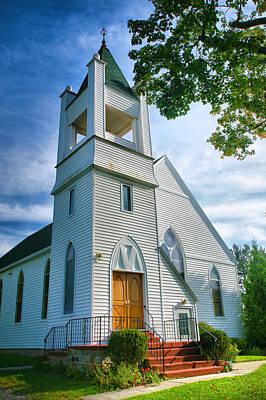 Church On The Bluff II Print by Steven Ainsworth