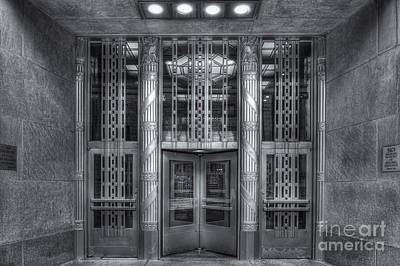 Empire State Building Photograph - Church Street Post Office II by Clarence Holmes