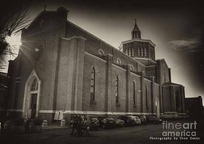 Church Print by Uros Zunic