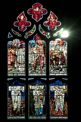 Church Window I Print by Svetlana Sewell