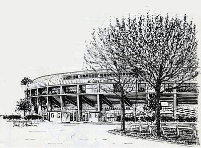 Cincinnati Reds/al Lopez Stadium Tampa Florida Print by Frank Hunter