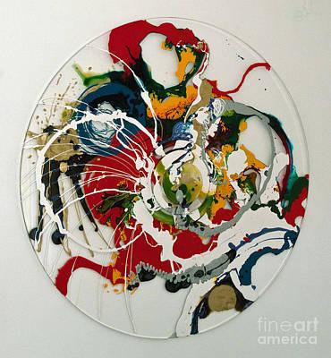 Www.artworkxofmann.com Mixed Media - Circ Candy by Annette  Gardiner