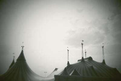 Circus Tent Print by Copyright Lynn Longos