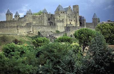 Cite In Carcassonne World Heritage Site Print by Axiom Photographic