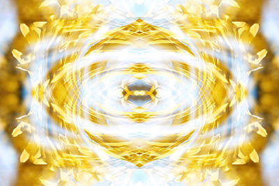 Abstract Digital Art Photograph - Citrine by Anthony Rego