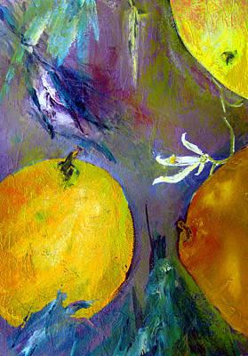 Citrus 3 Print by Beverly  Koski