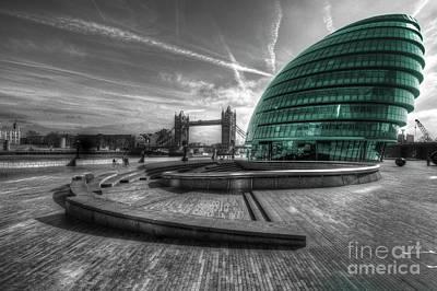 City Hall London Print by Rob Hawkins