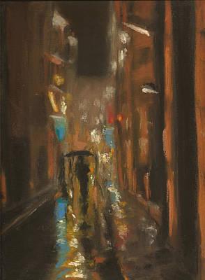 City Pastel - City Rain 7 by Paul Mitchell