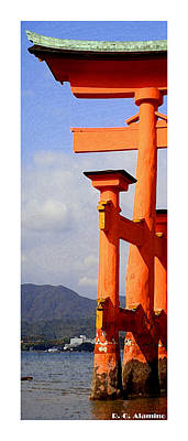 Miyajima Photograph - Citymarks Miyajima by Roberto Alamino