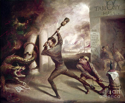 Civil War: Lincoln, 1862 Print by Granger