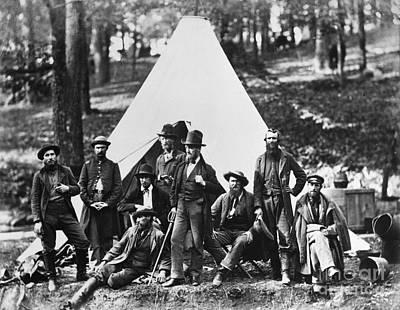 Civil War: Scouts, 1862 Print by Granger
