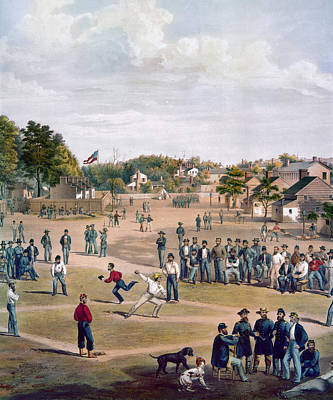 Civil War: Union Prisoners Print by Granger