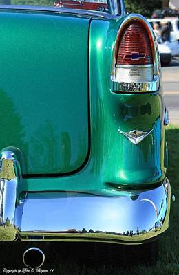 Antique Photograph - Classic Chevy by Tyra  OBryant
